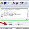 Danach versucht WinRAR bereits, die Datei instand zu setzen. Dieser Vorgang kann einige Zeit dauern und ist abhängig von der Größe des Archivs. (Bild: Screenshot/WinRAR)
