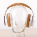 Auf den Ohren trägt sich der Bluetooth-Kopfhörer angenehm. (Bild: netzwelt)