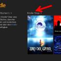 Haben Sie noch keine Bücher bei Amazon gekauft, können Sie nach dem Login in den Kindle-Shop wechseln. Klicken Sie dafür auf den gleichnamigen Link. (Bild: Screenshot/Kindle-App)