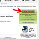 """Auf der rechten Seite finden Sie einen Button """"Jetzt mit 1-Click kaufen"""". Klicken Sie diesen an, um das Exemplar zu erwerben. Wenn Sie später angemeldet sind, können Sie direkt unter diesem Button einstellen, auf welches Gerät das Buch heruntergeladen werden soll. (Bild: Screenshot/amazon.de)"""