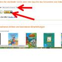 """Haben Sie den Kauf abgeschlossen, müssen Sie anschließend das Gerät auswählen, auf welches das Buch geladen werden soll. Um die Auswahl abzuändern, klicken Sie auf das kleine Dreieck im Feld hinter """"Senden an:"""". Danach klicken Sie auf """"Weiter"""". (Bild: Screenshot/amazon.de)"""