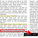 Wie in einfachen E-Book-Readern nehmen Sie auch in der Kindle-App auf Ihrem PC Markierungen vor oder machen sich Notizen. (Bild: Screenshot/Kindle-App)