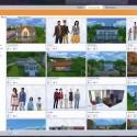 Um die Sims-Community zu besuchen, muss das Spiel nicht mehr verlassen werden. Der Nutzer kann direkt im Spiel auf das Angebot zugreifen. (Bild: Screenshot YouTube/TheSims)