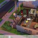 Im Baumodus lassen sich in die Sims 4 komplette Räume verschieben.(Bild: Screenshot YouTube/TheSims)