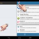 """Nach dem ersten Start der App sollten Sie die Einstellungen aufrufen, indem Sie links oben auf die drei kleinen Balken tippen und im aufklappenden Seitenmenü """"Einstellungen"""" auswählen. (Bild: Screenshot/Schützen (AppLock))"""
