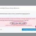 """Nachdem der temporäre Sicherheitscode akzeptiert wurde, wird auf dem Monitor ein Rettungscode angezeigt. Diesen benötigen Sie, falls der Abruf eines Codes über die App nicht mehr möglich ist. Nur mit diesem angezeigten Rettungscode erhalten Sie noch Zugang zu Ihrem Dropbox-Account. Notieren Sie den Code und bewahren Sie Ihn an einer sicheren Stelle auf. Danach klicken Sie auf """"Zweistufige Überprüfung aktivieren"""". (Bild: Screenshot/dropbox.com)"""