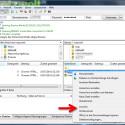 Klicken Sie eine Datei mit der rechten Maustaste an, um das Kontextmenü aufzurufen. Ähnlich wie im Windows Explorer können Sie hier die ausgewählte Datei löschen oder umbenennen. (Bild: Screenshot/FileZilla)