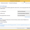 """Interessant sind auch die erweiterten Einstellungen, die Sie unterhalb des Links """"Laufwerk auswählen"""" finden. Hier geben Sie an, wie oft Ihre Dateien gesichert werden sollen und wie viele Versionen Sie aufbewahren möchten. Außerdem bereinigen Sie an dieser Stelle den Speicherplatz und löschen veraltete Dateiversionen manuell. (Bild: Screenshot/Windows 8)"""