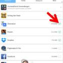 """Clean Master zeigt Ihnen eine Liste aller installierten Apps. Diese sortieren Sie am oberen Bildschirmrand nach verschiedenen Kriterien, sodass Sie auch bei großen App-Sammlungen den Überblick behalten. Markieren Sie die zu deinstallierenden Apps, indem Sie die Checkbox aktivieren. Tippen Sie danach auf """"DEINSTALLIEREN"""". (Bild: Screenshot/Clean Master)"""