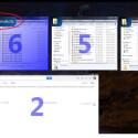 Bewegen Sie die Maus über ein Miniatur-Fenster, so sehen Sie den Namen des Fensters. Das ist besonders hilfreich, wenn Sie beispielsweise den Windows Explorer mehrfach geöffnet haben. So sehen Sie gleich, welcher Ordner angezeigt wird. (Bild: Screenshot/Switcher)