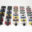 Die Q-S1 wird in 40 Farbkombinationen erhältlich sein. Das Kameragehäuse ist ab September 2014 für 349 Euro (UVP) im Handel erhältlich sein. (Bild: Ricoh)