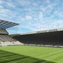 Die FIFA 15-Nachbildung des Stadions St. James' Park. (Bild: EA)