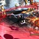 Auf den Tagflächen eines fliegenden Jets drückt ihr Gegnern Schellen und Supermoves ins Gesicht. (Bild: Nintendo)