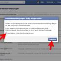 """Beenden Sie den Einrichtungsassistenten, indem Sie ein Häkchen vor """"Nein danke, Code bitte direkt senden"""" setzen und danach auf """"Schließen"""" klicken. (Bild: Screenshot / Facebook)"""