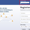 Sie loggen sich zukünftig wie bisher mit Ihrem Benutzernamen und Ihrem Kennwort bei Facebook ein. (Bild: Screenshot / Facebook)