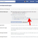 """Bei dem """"Codegenerator"""" erhalten Sie keine SMS, sondern werden in der Facebook-App auf Ihrem Smartphone über die Anmeldung benachrichtigt und müssen diese dort genehmigen. Sie können diese Alternative entfernen, indem Sie auf den gleichnamigen Link klicken. Dadurch erhalten Sie beim Login von einem neuen Gerät immer eine SMS. (Bild: Screenshot / Facebook)"""