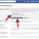 """Facebook informiert Sie per E-Mail, SMS oder Push-Benachrichtigung auf dem Smartphone, wenn unbekannte Geräte auf Ihren Facebook-Account zugreifen möchten. Das sind Browser oder Apps, von denen Sie sich bisher noch nie angemeldet haben. Auf diese Weise erkennen Sie frühzeitig, ob ein Unbekannter versucht Ihren Account zu knacken. Markieren Sie die Checkbox vor der gewünschten Benachrichtigung und klicken Sie dann auf """"Änderungen speichern"""". (Bild: Screenshot / Facebook)"""