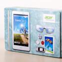 Gut, da nicht zu protzig: Acer verpackt das 8-Zoll-Tablet in einem schlichten Karton aus Recycle-Materialien. (Bild: netzwelt)