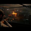Während Feuergefechten zeichnen sich Einschusslöcher durch Risse und Löcher in Fenstern ab, Metall beult aus und die Szenerie zerbröckelt und zerbirst. (Bild: Sony)