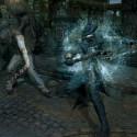 Zimperlich ist nich'! Die Kämpfe in Bloodborne sind gewohnt hart. (Bild: Sony)