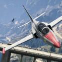 Mit dem Western Besra Trainings-Jet seid ihr schnell und sehr beweglich in der Luft. (Bild: Take 2)