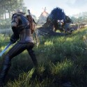 Für sonderbare Kreaturen hat Geralt immer sein Silberschwert dabei. (Bild: CD Projekt Red)