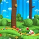 ...oder gegeneinander - zu jederzeit wirkt Yoshi's Woolly World ungemein herzig. (Bild: Nintendo)