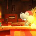 Endgegner in Yoshi's Woolly World wirken ähnlich knuffig wie der Rest des Spiels. (Bild: Nintendo)