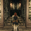 """Danach findet ihr euch vor diesem Tor wieder, das ihr mit dem """"schweren Eisenschlüssel"""" in eurem Inventar öffnen könnt. (Bild: reddit)"""