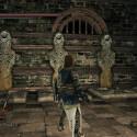 Erneut warten die seltsamen Steinstatuen auf euch, die ihr bereits aus dem letzten DLC Crown of the Sunken King kennen dürftet. (Bild: reddit)