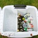 Genügend Platz für Getränke im Coolest Cooler. (Bild: Kickstarter Coolest Cooler)