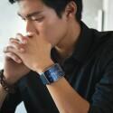 Die Gear S kommt im Oktober in den Handel. Einen Preis nennt Samsung noch nicht. (Bild: Samsung)