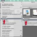Schritt 2.2: Vorbereitung für den Export der Originaldateien. (Bild: Screenshot Aperture)