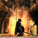 Der Nebelturm ist die brachliegende, von zündelnden Flammen ausgehöhlte Ruhestätte der Krone des Eisenkönigs. (Bild: Screenshot Bandai Namco)
