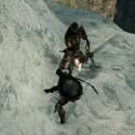 Die Skelettkrieger, die sich mir gefühlt schon häufig in den Weg stellten, scheinen mir kaum gefährlich werden zu können. (Bild: Screenshot Bandai Namco)