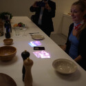 Teil des Life Space UX-Konzeptes: Der Frühstückstisch wird zum Touchscreen.