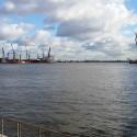 Der Blick auf den Hafen.