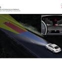 Eine Ferninfrarotkamera hilft bei Nachtfahrten, Unfälle zu vermeiden.