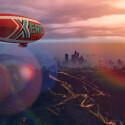 Erobert den Himmel im schnelleren und wendigeren Xero-Luftschiff.
