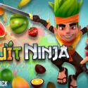 """""""Fruit Ninja"""" ist das Original-Schneidespiel, bei dem du nur Früchte zerschneiden musst. Allerdings solltest du die Bomben auslassen. 74 Cent gespart."""