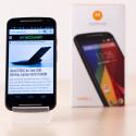 Der Bildschirm des Motorola Moto G (2. Generation) misst nun in der Diagonalen fünf statt 4,5 Zoll.