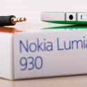 An der Oberseite des Nokia Lumia 930 befindet sich der Kopfhöreranschluss.