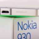 Die Unterseite des Nokia Lumia 930 ziert eine microUSB-Schnittstelle.