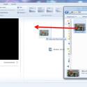 """Öffne den Windows Movie Maker und ziehe dein Video per Drag-and-drop in die Software. Alternativ klickst du auf der Registerkarte """"Startseite"""" auf """"Videos und Fotos hinzufügen""""."""