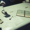 Sieht so ein Schreibtisch der Zukunft aus? Zumindest nach heutigen Gesichtspunkten: Nein.