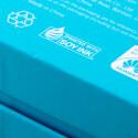 """Hinweise auf den Mutterkonzern Huawei findet der Nutzer kaum. Auf der Rückseite der Verpackung prangt ganz klein nur der Schriftzug """"Powered by Huawei"""". (Bild: netzwelt)"""