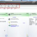 Bisher befand sich das Menü am oberen Bildschirmrand, was Windows-Nutzern auch von anderer Software bekannt ist. Auch die auswahlbezogenen Untermenüs in Form von Icons unterhalb der Menüzeile sorgten in der alten Version für einen guten Überblick.