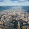 Der Blick über die Stadt ist atemberaubend.