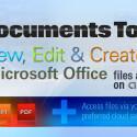 """Mit dem """"Docs To Go Premium Key"""" bearbeitest du deine MS Office-Dateien auf dem Android-Smartphone. Du hast Zugriff auf deine Dokumente in Google Drive, Dropbox, Box und SkyDrive und synchronisierst die Daten zwischen deinem Gerät und dem Windows-PC. 7,18 Euro gespart."""