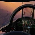 Flüge mit einem Jet sind aus der Ego-Perspektive noch weit spektakulärer.